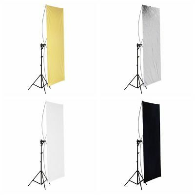 "Neewer Photo Studio 35"" x 70"" Flat Panel Light Reflector with Light Stand"