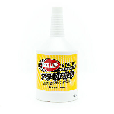 RedLine- 75W90 GL-5 Gear Oil - 1 Quart - PN: 57904