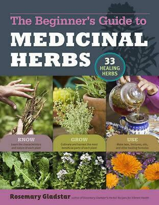 Beginner's Guide to Medicinal Herbs: 33 Healing Herbs to Know, Grow, and Use by