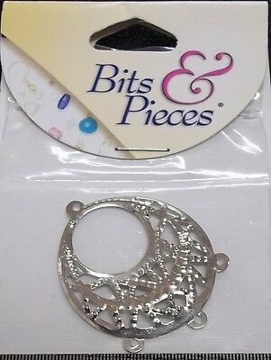 CCA Bits & Pieces Double Box Clasp Silver - Jewellery..Findings...Crafts
