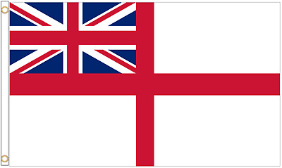 White Ensign Royal Navy 5'x3' Flag