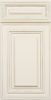Antique White Kitchen Cabinet-SAMPLE DOOR -MAPLE-All wood IN STOCK-SHIP QUICK