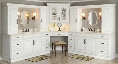 Antique White Kitchen Cabinets-Sample door-RTA-All wood, in stock, ready to ship