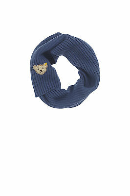 STEIFF Mini Evening Blue Strickschal jeansblau Gr.100 - 120 cm NEU