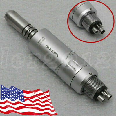 Dental Portable Turbine Unit 4 Hole work w/ Compressor+High Slow Speed Handpiece