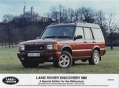 Land Rover Discovery MM Millennium Special Edition Press Photograph