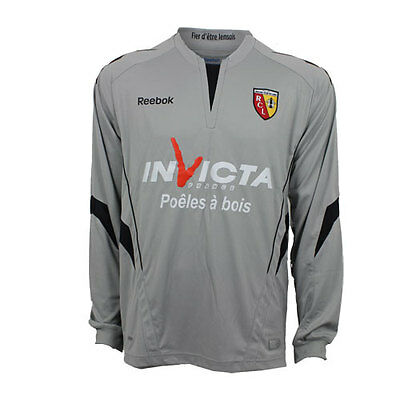 RC Lens away keeper long sleeve jersey K37716 Reebok (new in bag with tags)
