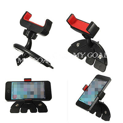Universal 360°Car CD Slot Phone Mount Holder Cradle Stand For Mobile Phone GPS