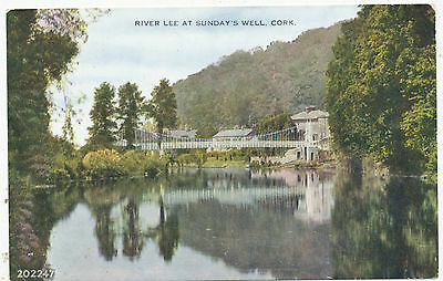 River Lee at Sunday's Well, Cork