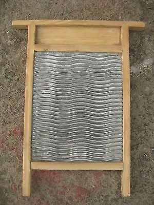 """Antique  russian metall zink plated wash board 20"""""""