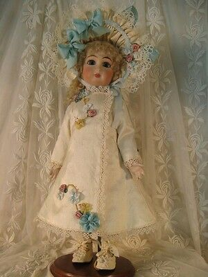 "Doll Dress Pattern For 18""  French Doll Antique Style ~ Hannah"