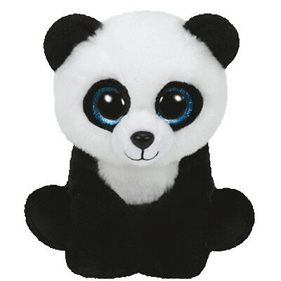 TY Classic Plush - MING the Panda Bear (9.5 inch) - MWMT's Stuffed Animal Toy