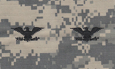 4 STARS Black ACU Army Camouflage sew-on rank patches police chief//sheriff