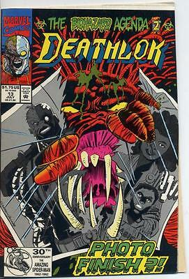 Deathlok 13 Deathlock  ERROR VARIANT No DOUBLE COVER Butchered Mess