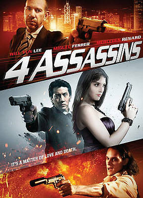 4 ASSASSINS  (DVD, 2013)   Miguel Ferrer, Will Yun Lee, NOT RATED