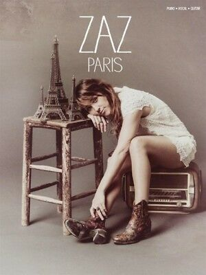 ZAZ Paris - Piano Vocal Guitar Book - Zaz - 9781783059980 PORTOFREI