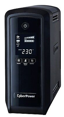 CyberPower PFC Sinewave UPS 900VA 900W Schuko Green Power LCD USB (UK) +