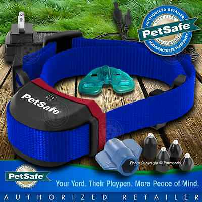 PetSafe Stubborn Stay and Play Rechargeable Wireless Blue Collar PIF00-13672