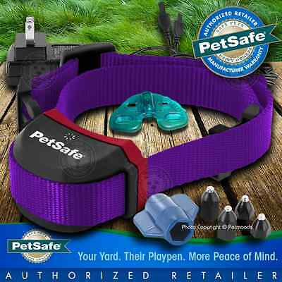 PetSafe Stay and Play Wireless Fence Collar PIF00-13672 Purple Stubborn Dog