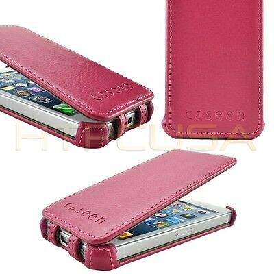 Pink SOFT SNAP Case Cover + Clear Screen Protector for Apple iPhone 5/5S