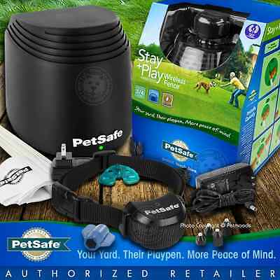 PetSafe Stay and Play PIF00-12917 Wireless Fence Containment 1 2 3 4 or 5 Dogs
