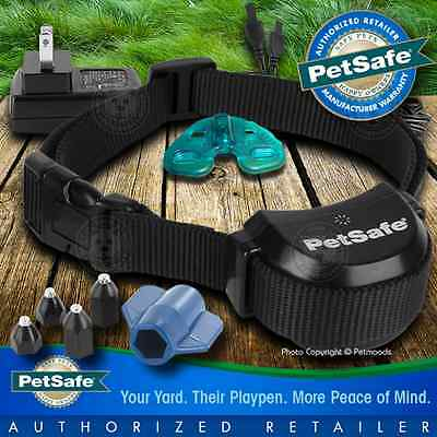 PetSafe Stay+Play Rechargeable Wireless Fence Collar PIF00-14288 WARRANTY