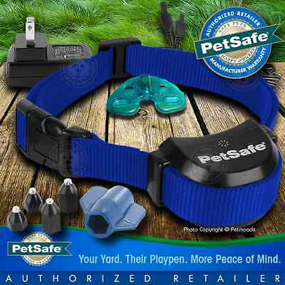 PetSafe Stay and Play Rechargeable Wireless Receiver Blue Dog Collar PIF00-14288
