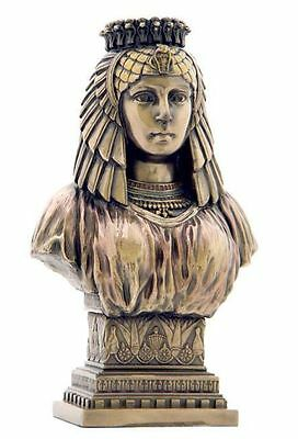 Egyptian Queen Cleopatra Bust Female Ruler of Egypt Statue #WU75546A4