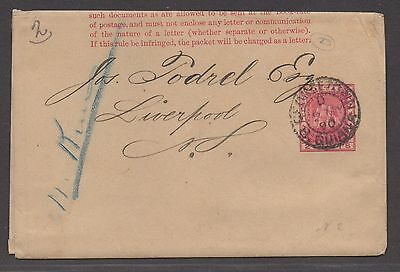 *British Guiana Postal Wrapper #2, 1890