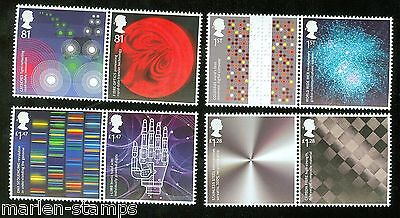 Great Britain 2015 Inventive Britain  Set Of Eight Stamps Mint Never Hinged