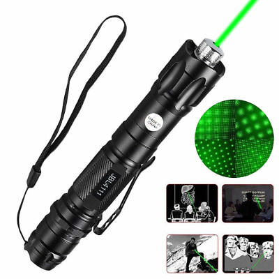 10 Miles Range 532nm Green Laser Pointer Light Pen Visible Beam Lazer Ray Office
