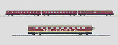 "Diesel Powered Rail Car Train ""World Cup Winner 1954"" by Märklin Z 88720 + 87720"