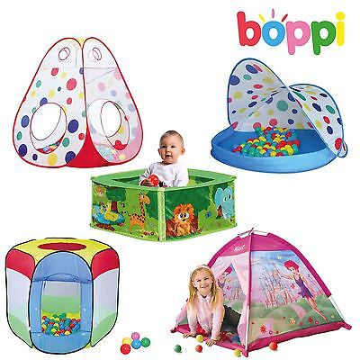 boppi - Children's and Babies Play Tent Ball Pit with Colour Balls
