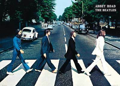 The Beatles Giant - Abbey Road - Classic Musik - Riesenposter- Größe 140x100 cm