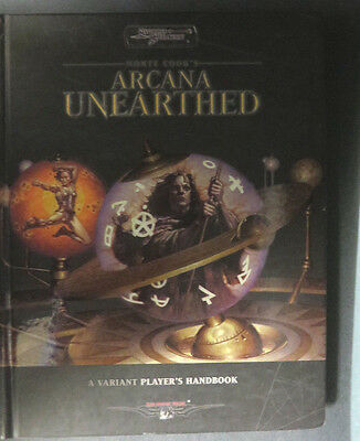 Sword Sorcery Monte Cook's Arcana Unearthed Variant Player's Hardcover Ww16140
