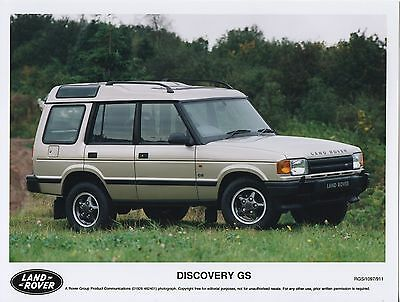 Land Rover Discovery GS Press Photograph - 1997