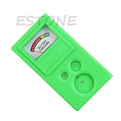 Plastic 1.5v 3v Power Watch Cell Button Battery Checker Tester Tool Power NEW