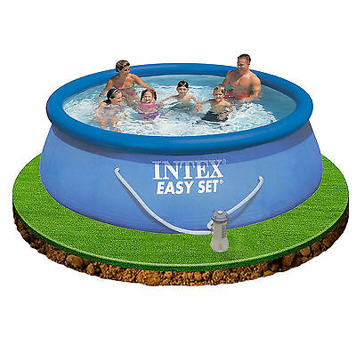 """Intex 12ft x 30"""" Easy Set Swimming Pool with Filter Pump #28132"""