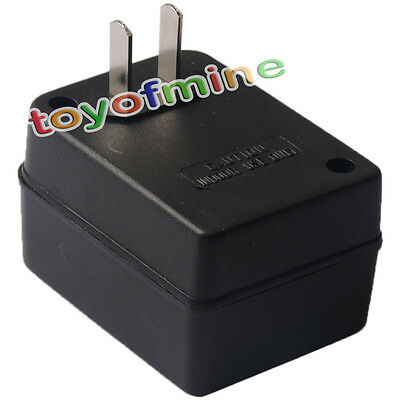 New Black Step Up Voltage Converter Adapter 110V US to 220V US free shipping