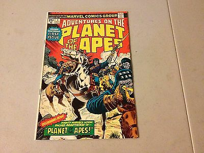 ADVENTURES ON THE PLANET OF THE APES #1 Marvel Bronze Age 1st Appearance