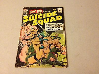 BRAVE AND THE BOLD #37 Silver Age comic DC SUICIDE SQUAD Movie Coming