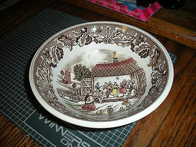 "Vintage Johnson Brothers 6 1/2"" Bowl (s) Neighbors Barn Dance Made in England"