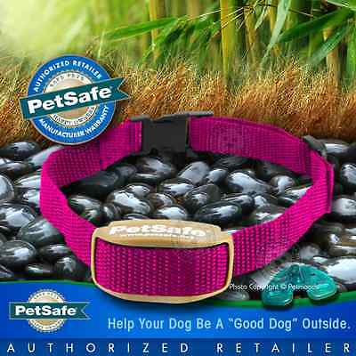 PetSafe Pawz Away Pet Barrier Pink Collar Receiver Outdoor/Indoor PWF00-13664