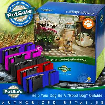 PetSafe Pawz Away Pet Barrier Collar Receiver PWF00-13664 + Extra Collar Strap