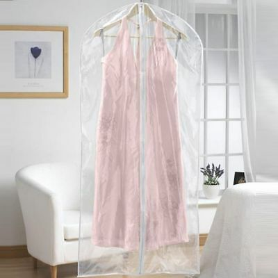 Moth Damp Proof Clear Plastic Dress Suit Garment Covers Bags Choice of Length