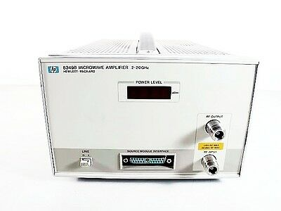 HP 8349B 2 to 20 Ghz Microwave Amplifier
