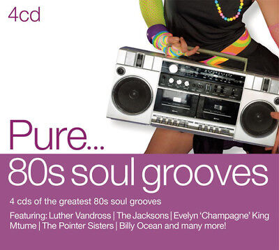 Various Artists : Pure... 80s Soul Groove CD (2013) ***NEW***