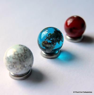 It's A Small World! Super TINY Detailed Globe Planet Marble Set - 15mm Glass
