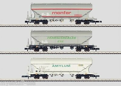 Z Scale Marklin International 3-Car Grain Hopper Car Set by Märklin Z 82622