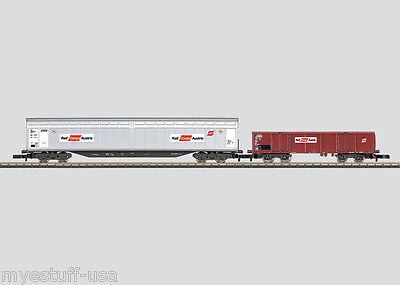 Z Scale Marklin 2-Car Austrian Railroad (ÖBB) Freight Car Set by Märklin Z 82508